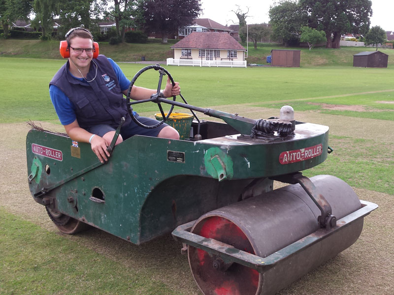 Wellington School 1981 Cricket Roller